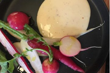 Radishes-Fried-Egg-Sauce-Lucinda-Tasmania