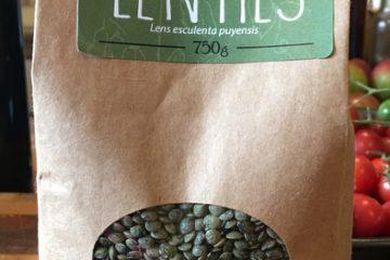 The Grain Family Green Lentils