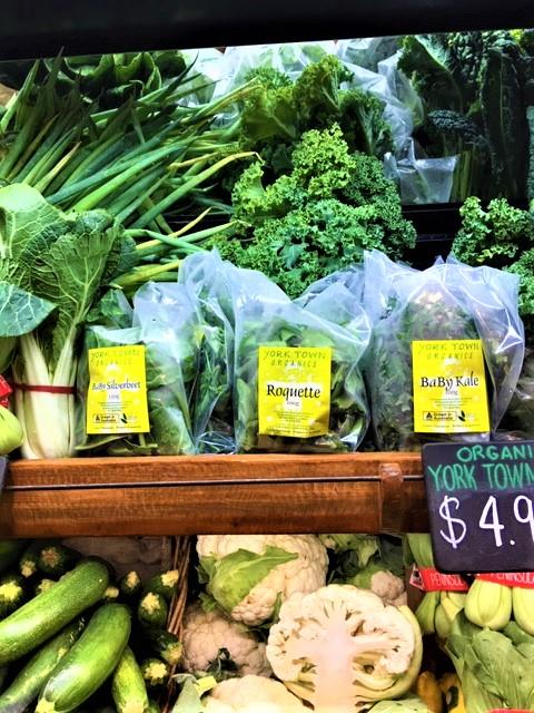 York Town Organics vegetables at Eumarrah