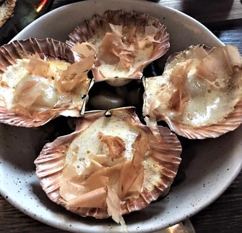 Stillwater Restaurant Tasmanian scallops
