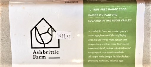 Ashbrittle Farm free range eggs