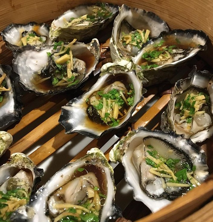 Blackman-Bay-Oysters-steamed-with-celery-ginger-light-shoyu-and-mirin