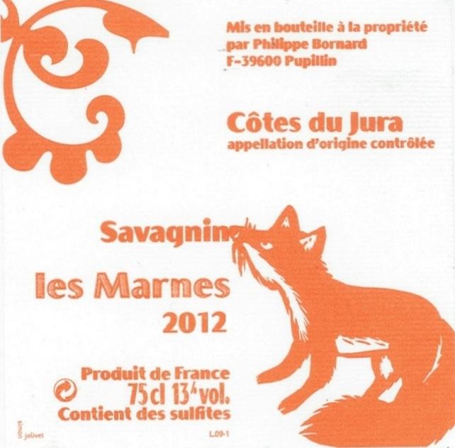 Bornard-Les-Marnes-2012 wine
